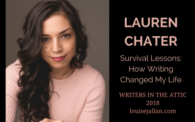Lauren Chater: Survival Lessons—How Writing Changed My Life