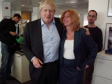 With Boris. Say no more.