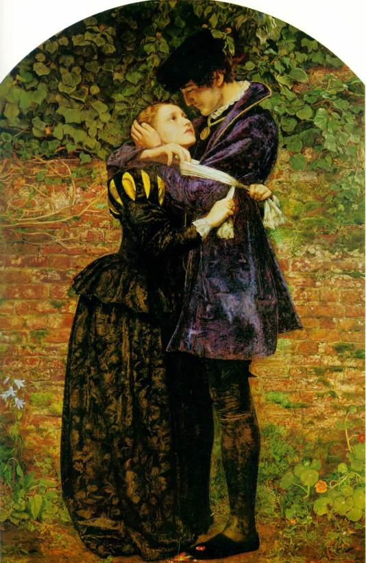 The Huguenot by JE Millais