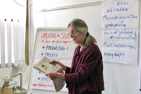 Louise Teaching