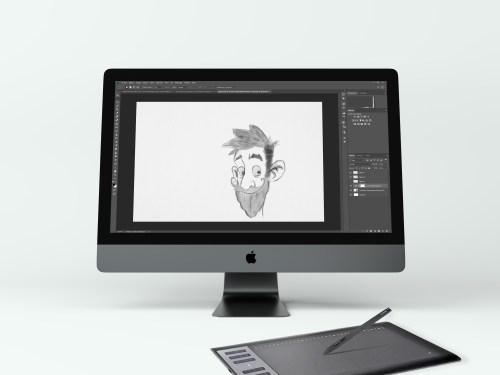 mockup-dessin-photoshop