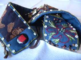 Louise.h accessoires ceinture brodée