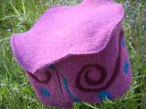Louise.h accessoires chapeau laine bouillie et feutrage