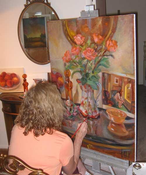 louise-herman-artist-at-work