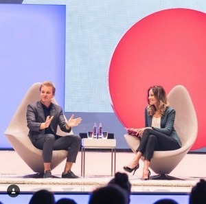Louise Houghton DMEXCO Interview with Nico Rosberg