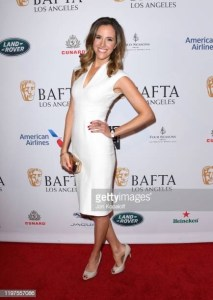 Louise Houghton Golden Globes and BAFTA party