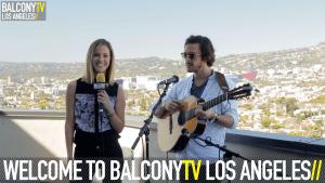 Louise Houghton Balcony TV LA - Interview with Jack Savoretti