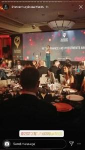 Louise Houghton 21st Century Awards Story IG