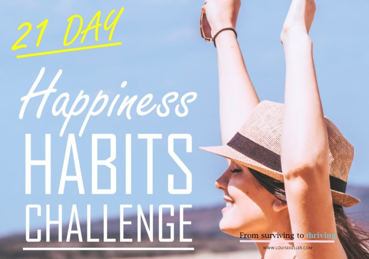21 Day Happiness Habits Challenge