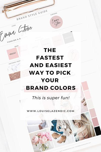 fastest-easiest-way-pick-brand-colors-branding-louise-lazendic