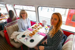 As girly as it gets! The fabulous Afternoon Tea Bus Tour
