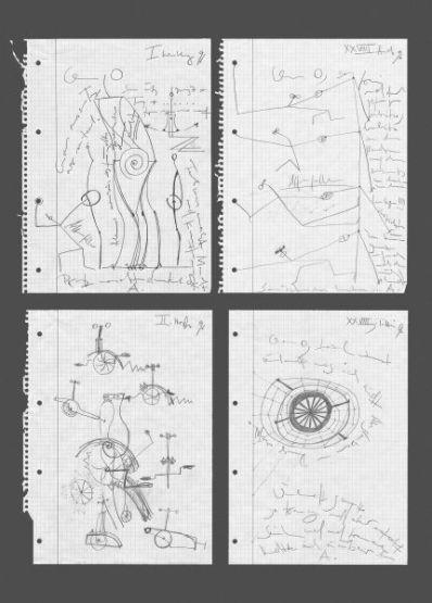 o.T. | 1996,Bleistift auf Papier | je 29,5 x 21 cm