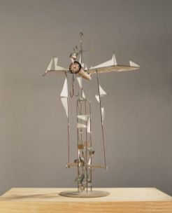Brunnenentwurf | 1989, Kupfer/Messing/Papier | 50 x 30 x 20 cm