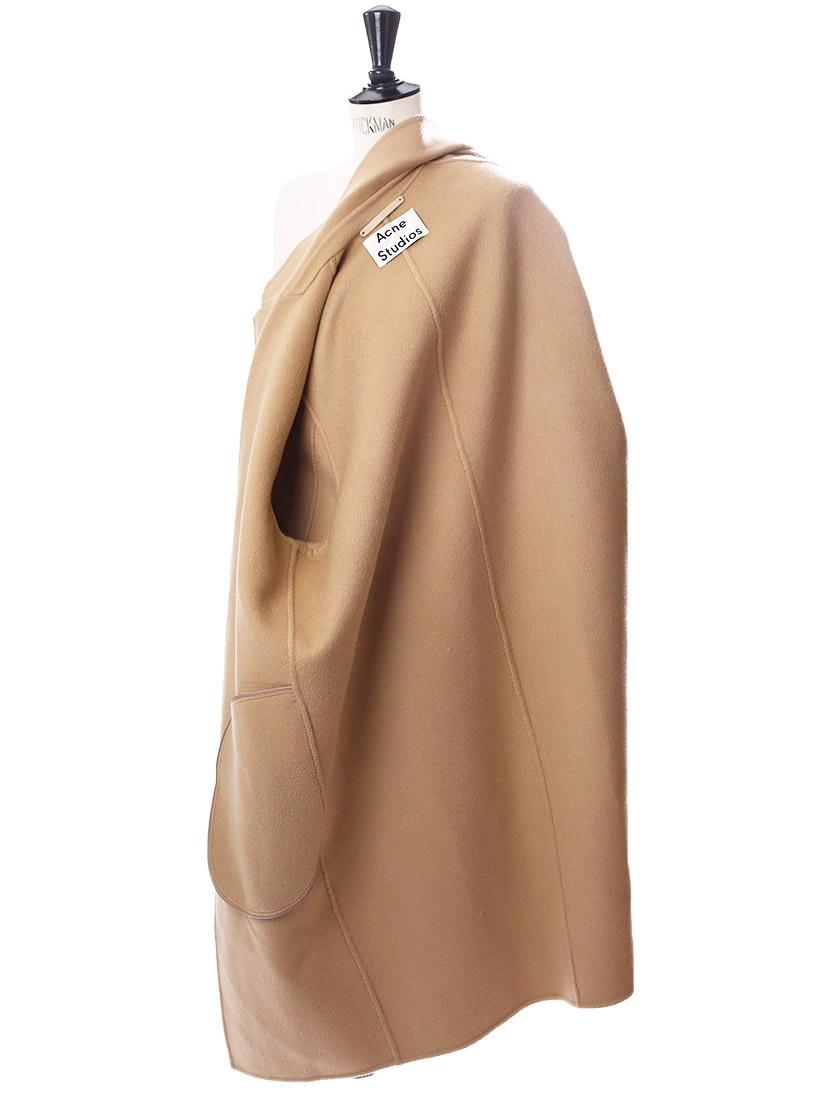 Louise Paris  ACNE STUDIOS AVALON Camel beige wool and