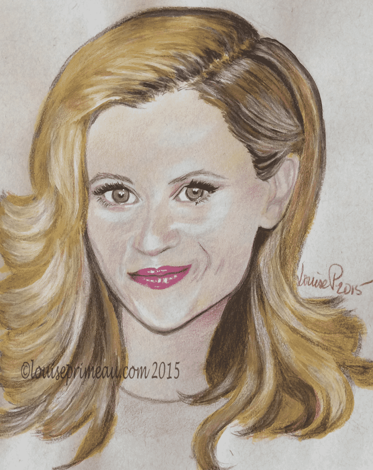 reese witherspoon mixed media