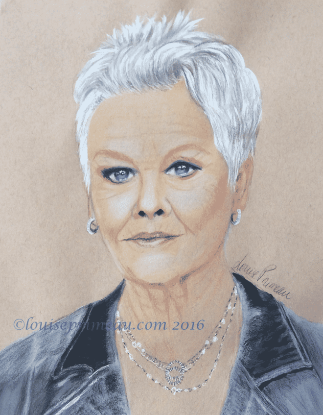 completed Judi Dench