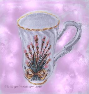 sally's bouquet teacup