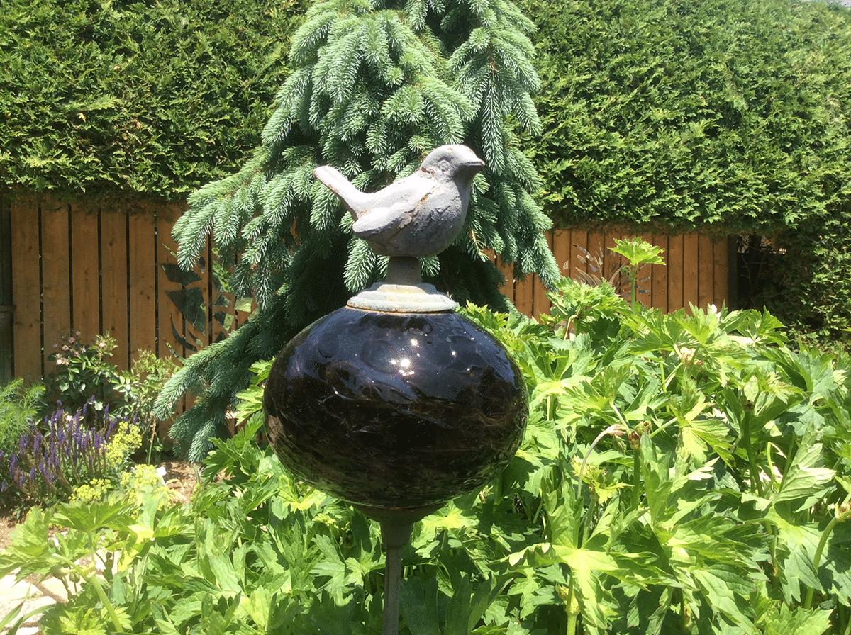 glass globe ornament