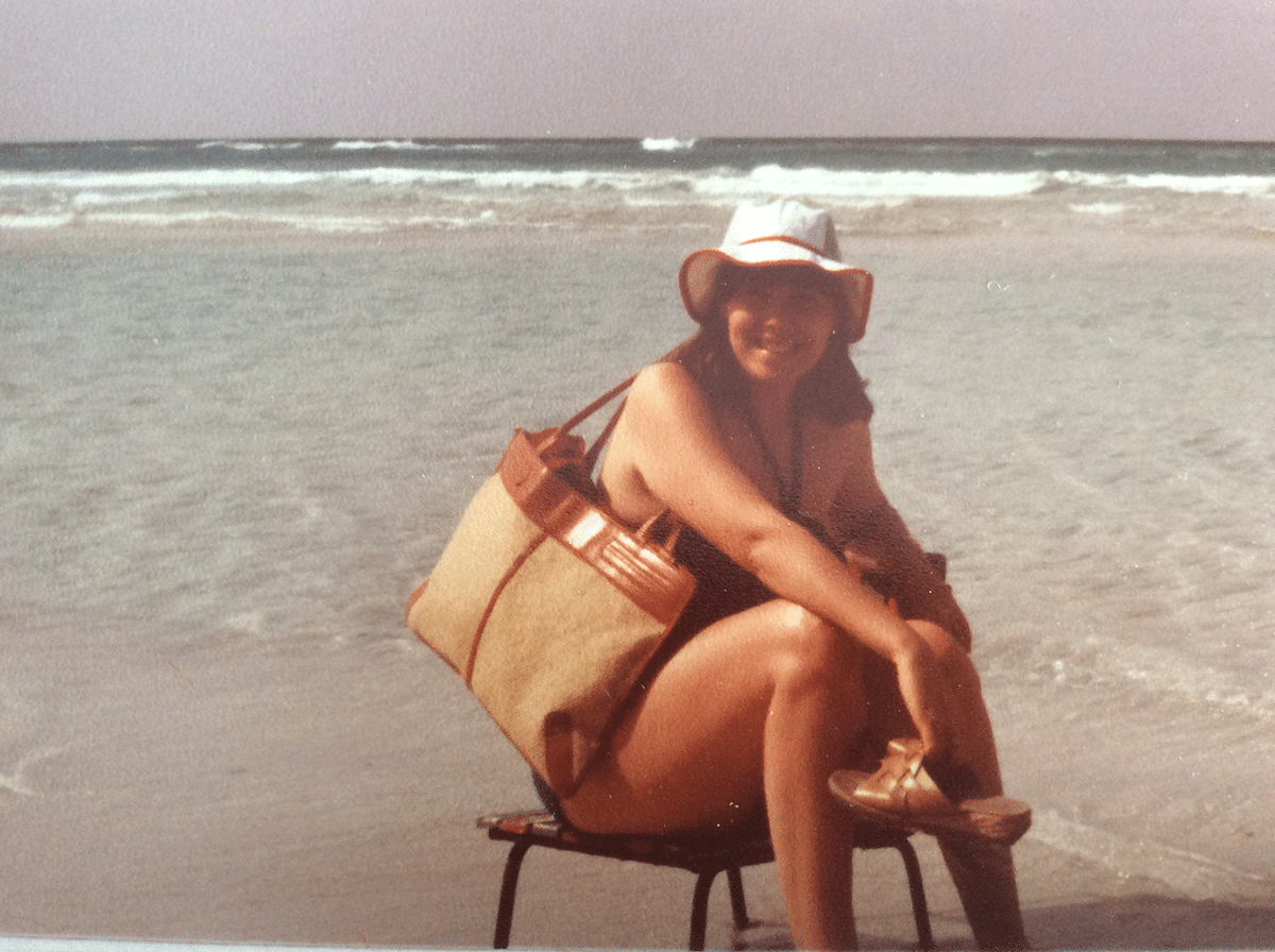 on the beach 1979