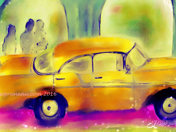 digital image old car