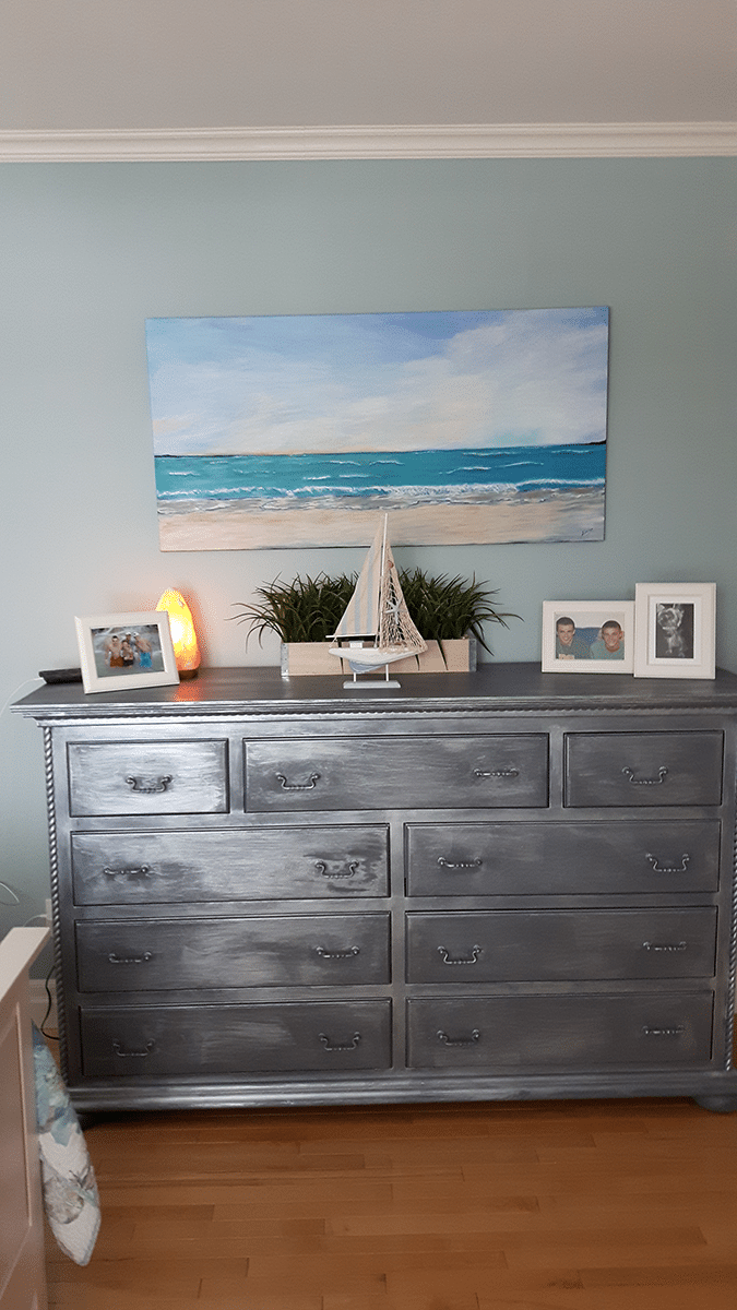 seascape in its new location