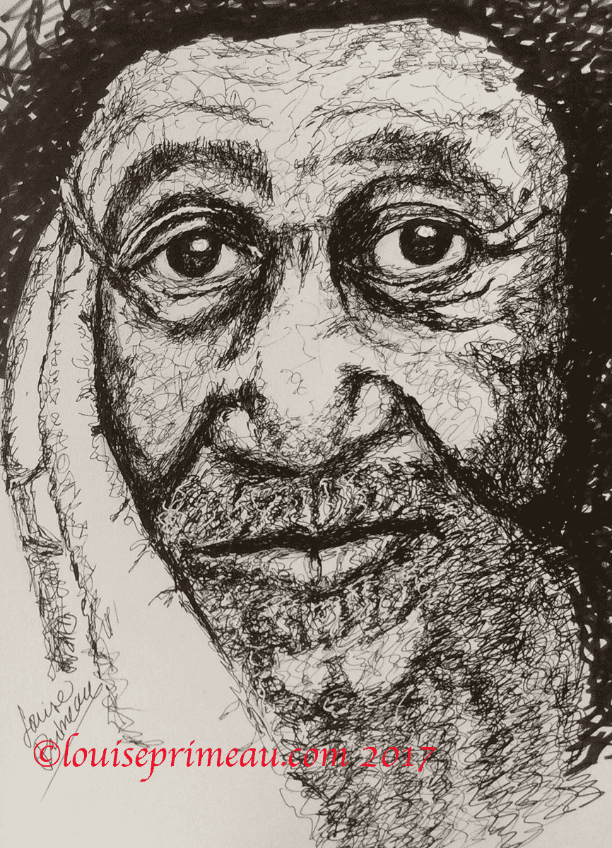 scribble art using micron pens