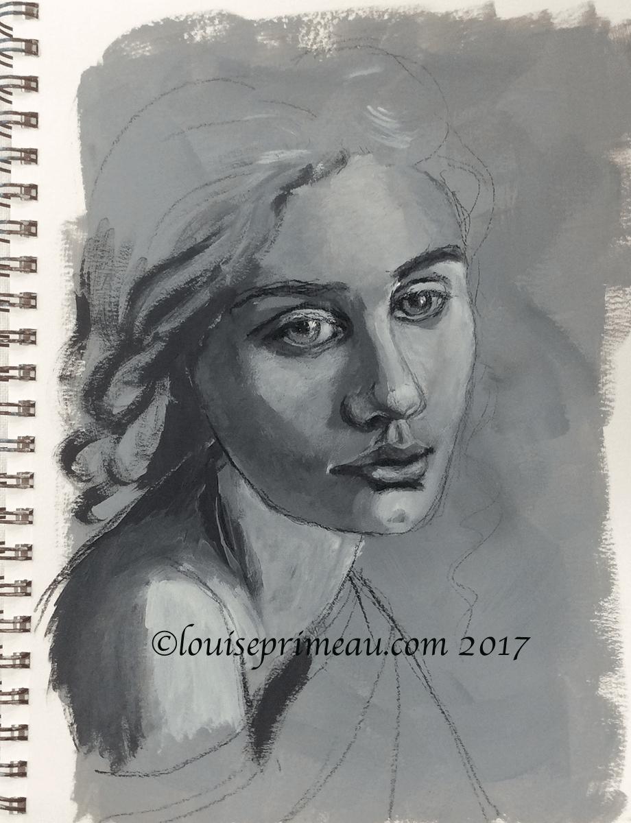 In my sketchbook - February 1, 2017