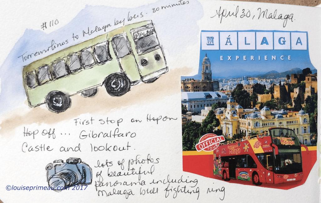 journal page - Malaga