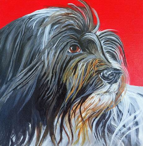 pet portrait by Louise's ARTiculations