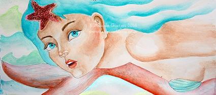Ana de Gortari's mermaid