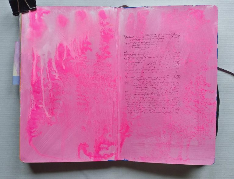 dripping paint background for journal