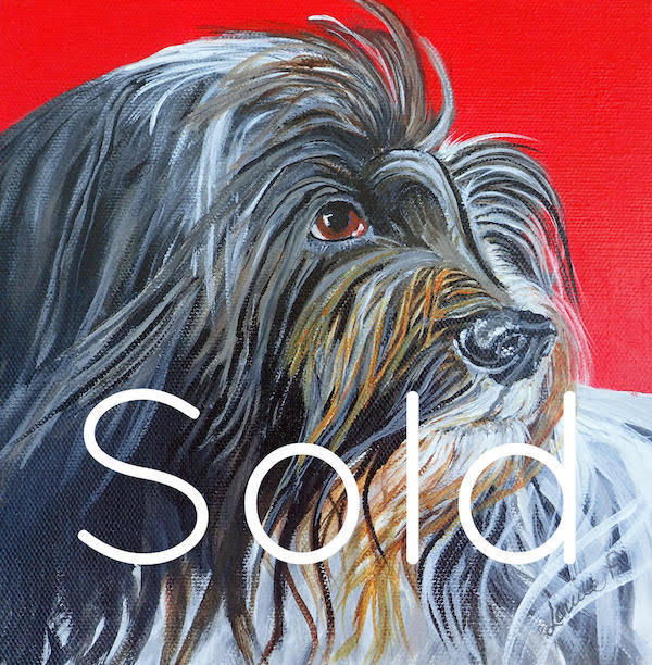 Sheep Dog Original Art - SOLD