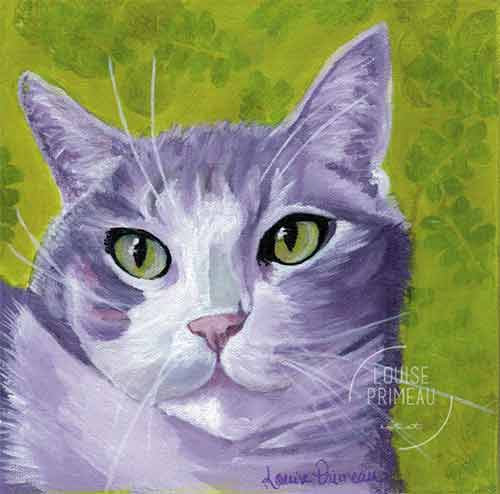 The Stare - Print by Louise Primeau, Artist