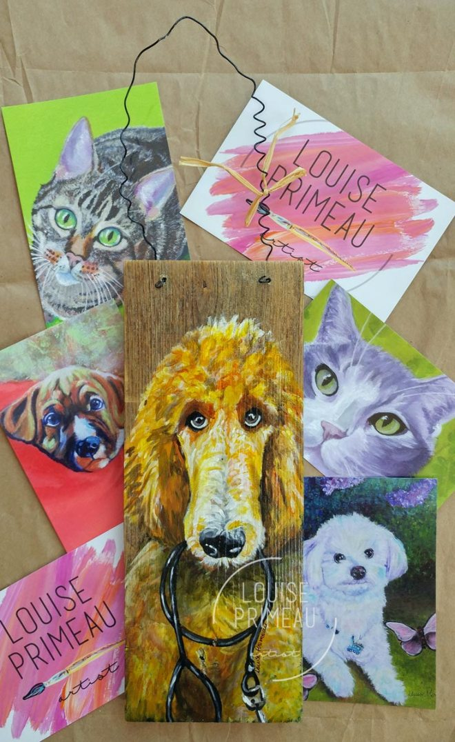 Pet portraits by Louise's ARTiculations