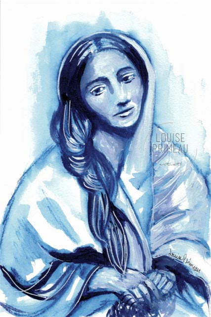 Monochromatic sketch: Elizabeth