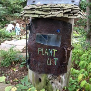 plant list box at Chanticleer