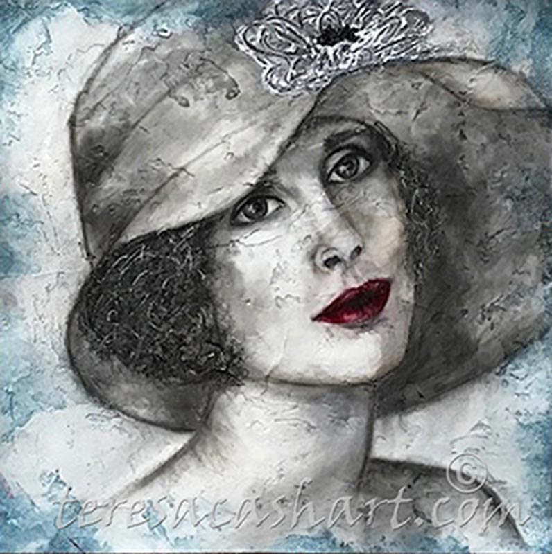 The Lady by guest artist Teresa Cash