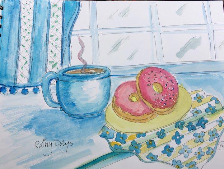 Rainy Days by Kathy Whitham.