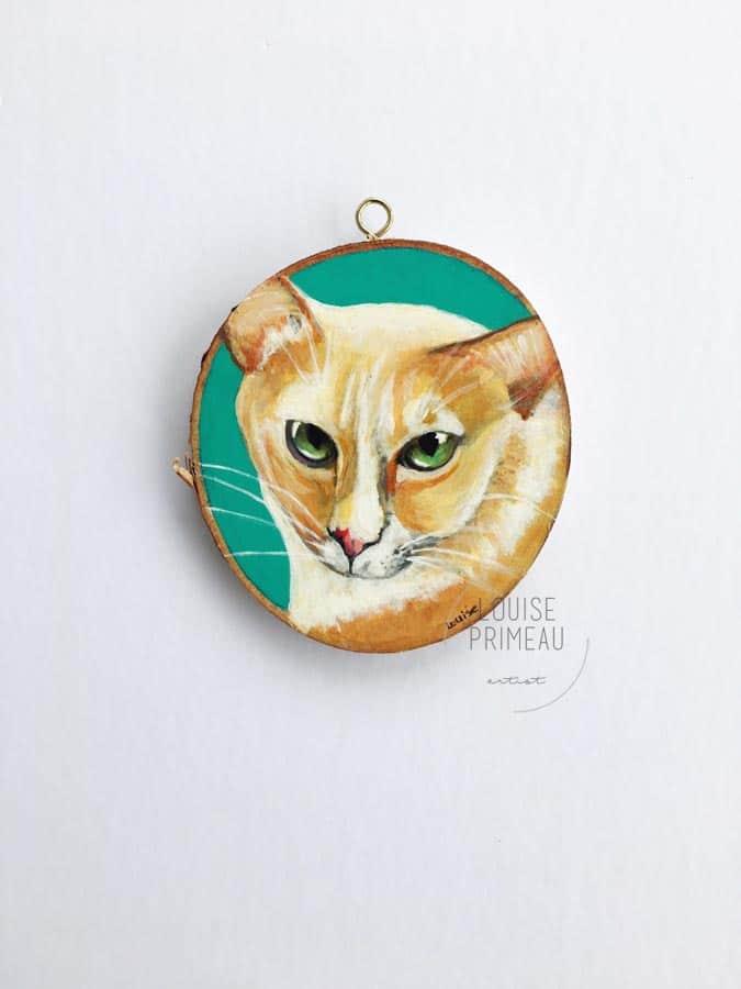 Buddy, by Ottawa pet portrait artist, Louise Primeau