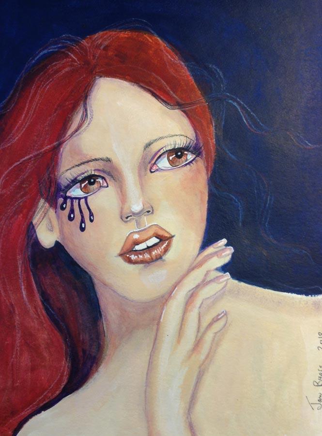 Guest artist, Jan Byers.