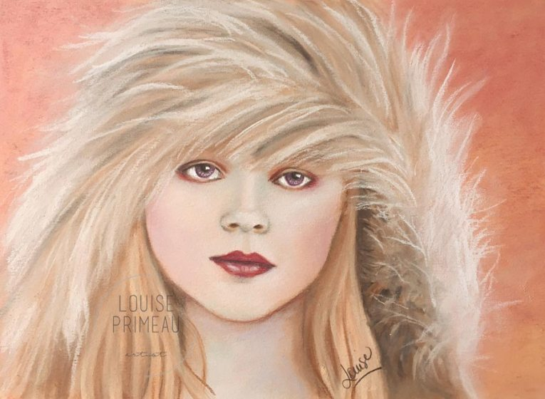 Winter's End - pastel portrait by Louise's ARTiculations