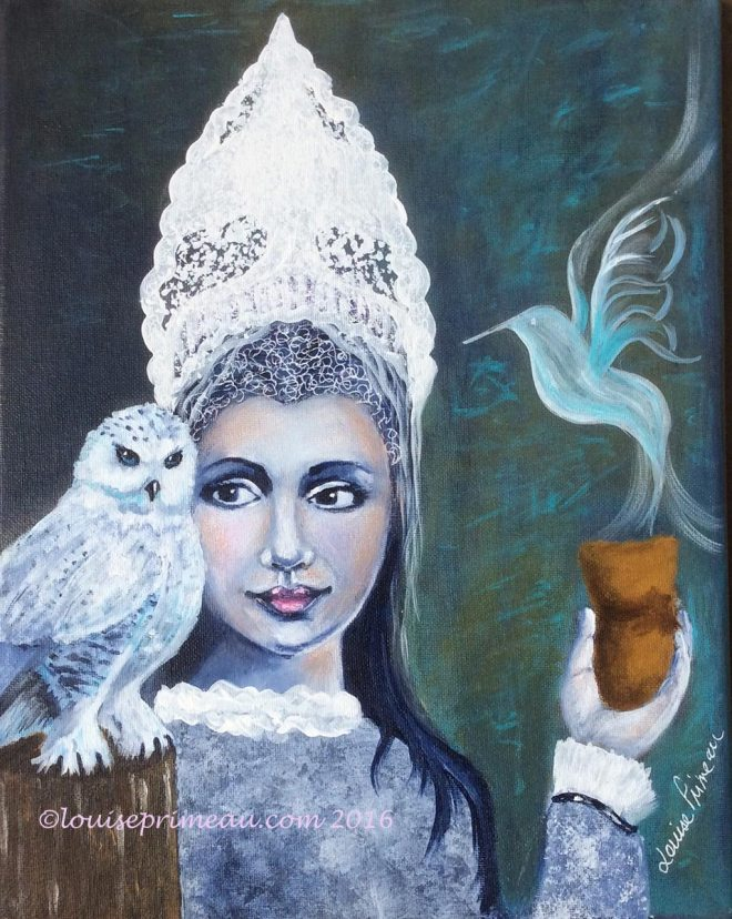 Snow Queen by Louise Primeau