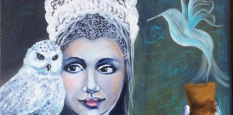 Snow Queen by Louise Primeau