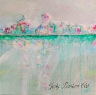 Judy Lambert, featured artist at Louise's ARTiculations