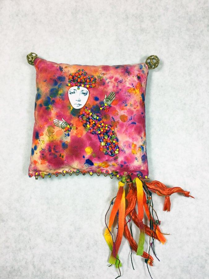 small art pillow