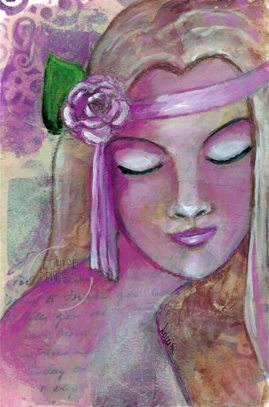 Flower Child by Louise Primeau