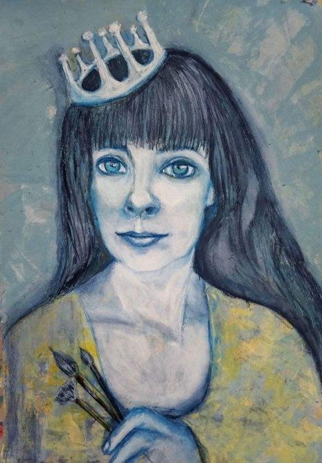 Eleonora: self-portrait