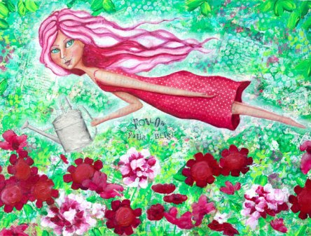 Follow Your Bliss by Lorizart