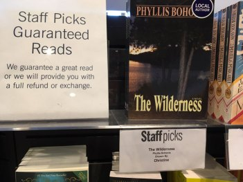 Indigo Staff Pick: The Wilderness by Phyllis Bohonis