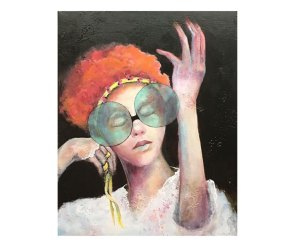 Release by Pamela Vosseler, guest artist at Louise's ARTiculations
